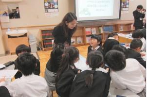 レジリエンスを育てよう 特別授業 水戸英宏小学校