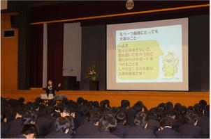 逆境に負けない心の『レジリエンス』を育てよう! 新潟県立十日町総合高校